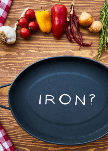 Does your healthy diet include a proper intake of Iron?